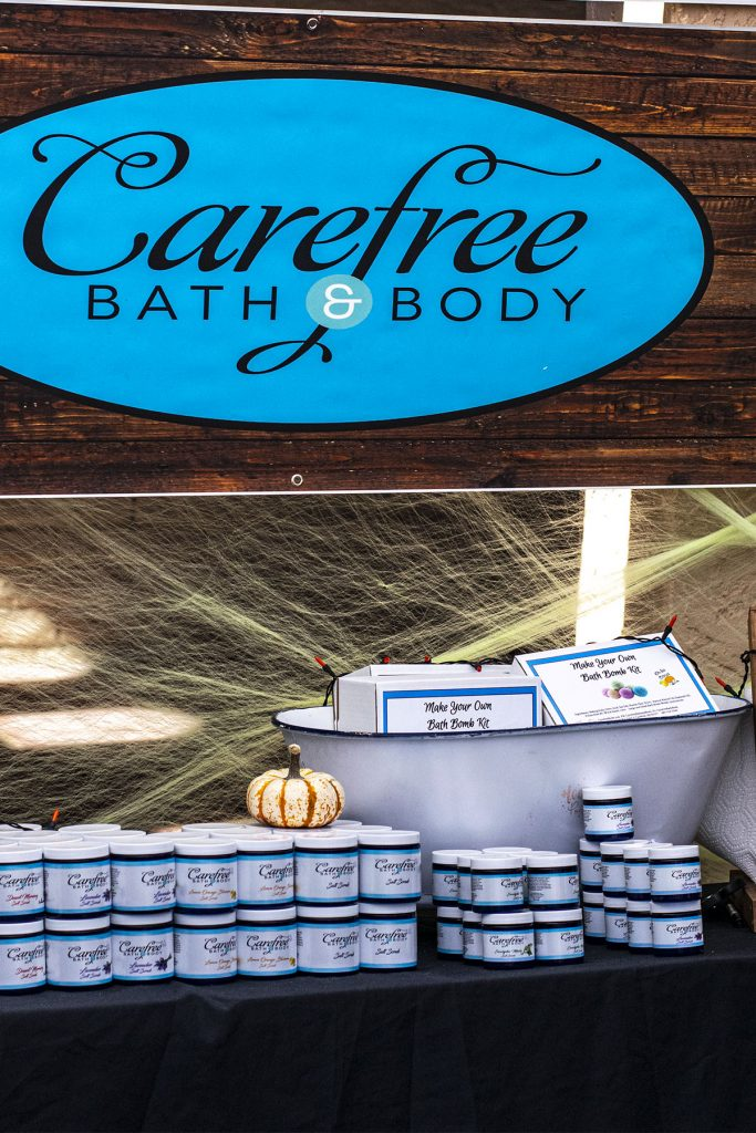 Carefree bath and body