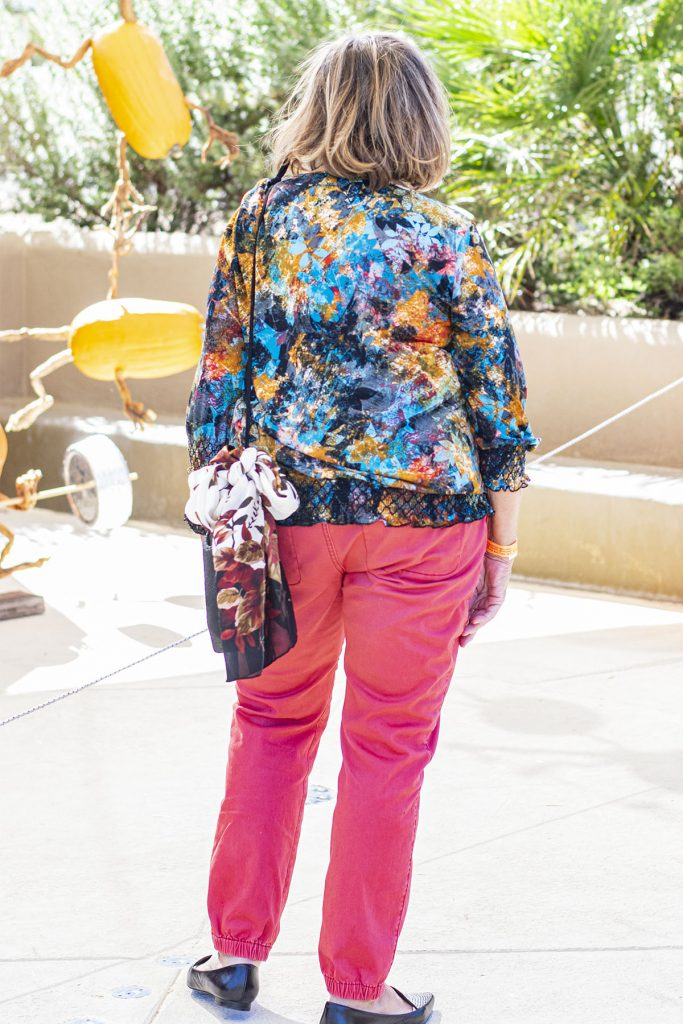 Older women and what shoes to wear with joggers