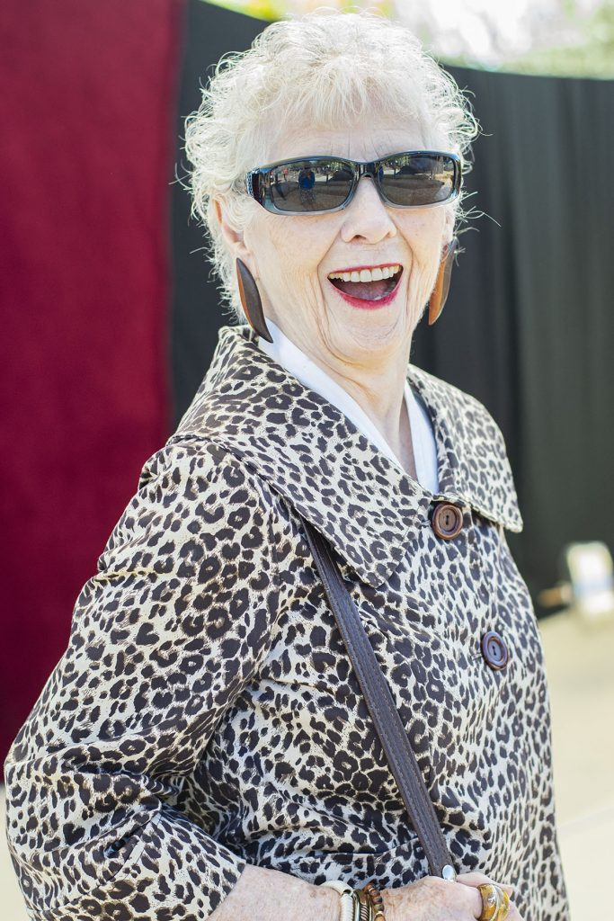 Woman over 80 in style