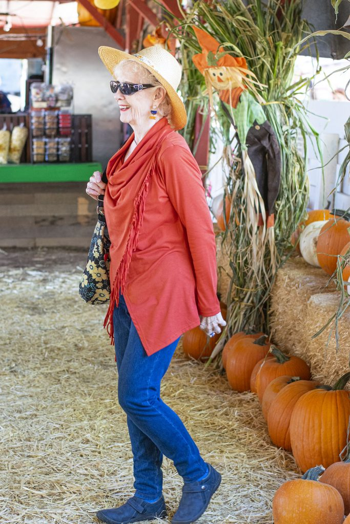 How to style ankle boots for older women
