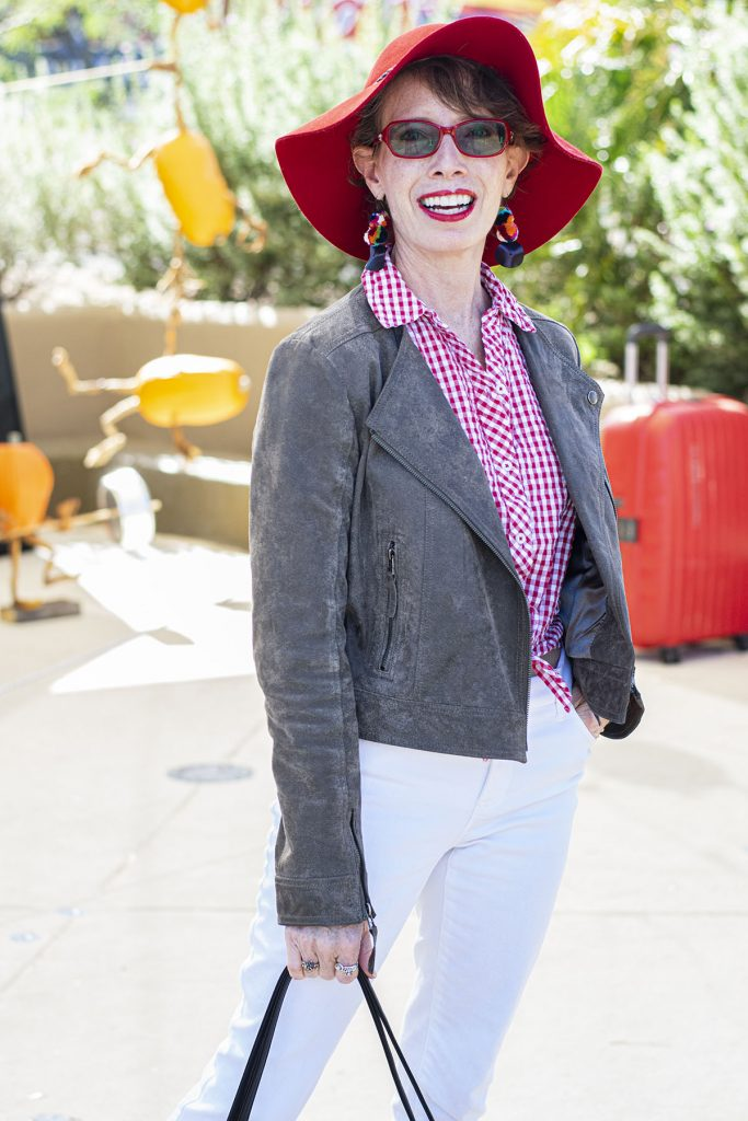 Red gingham for fall