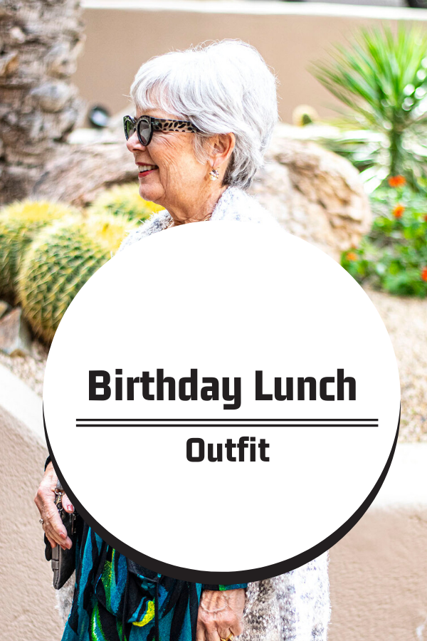 What to wear to a birthday lunch when traveling