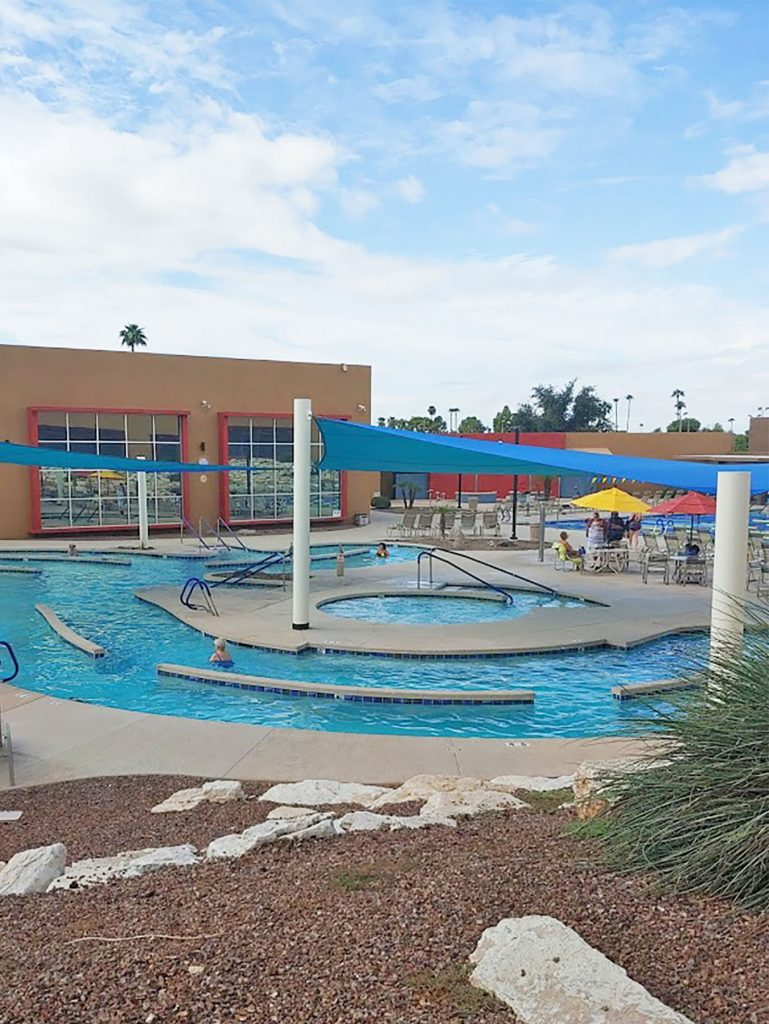 The pool at Bell