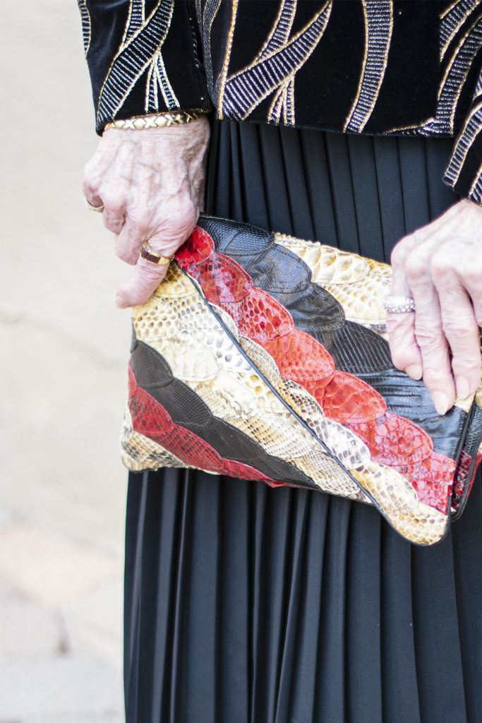 Adding color with a purse
