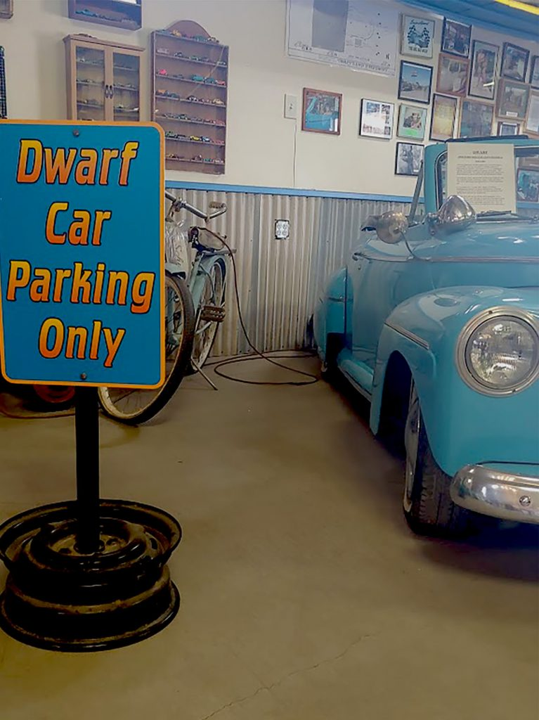 Dwarf car parking