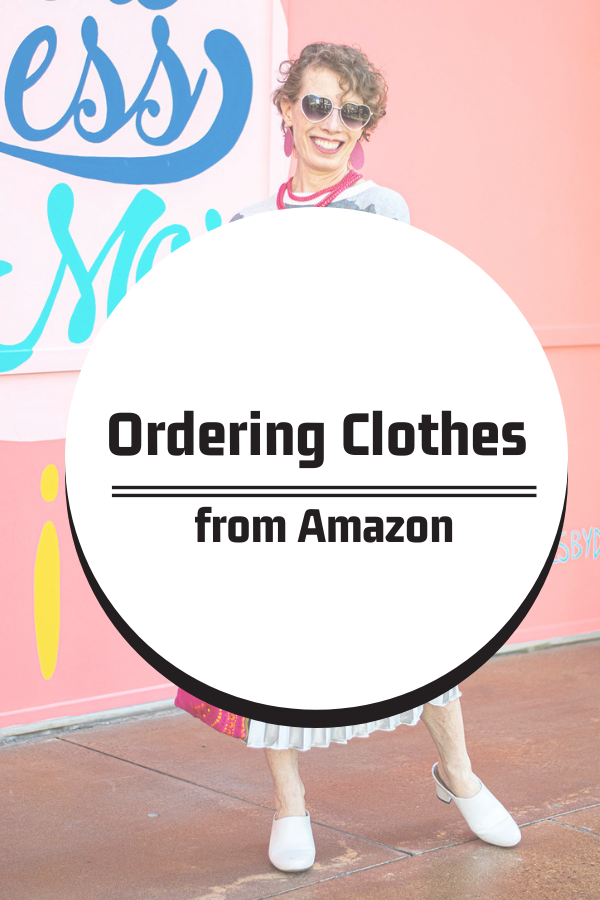 Experimenting with ordering clothes from Amazon