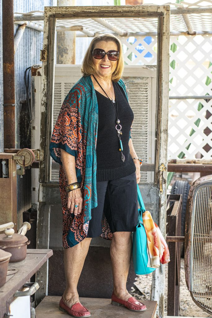 Older woman and how to wear bohemian style
