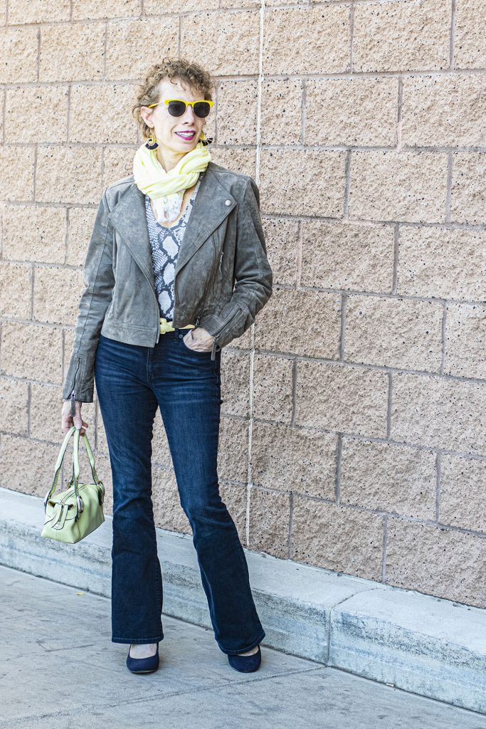 Navy and jeans