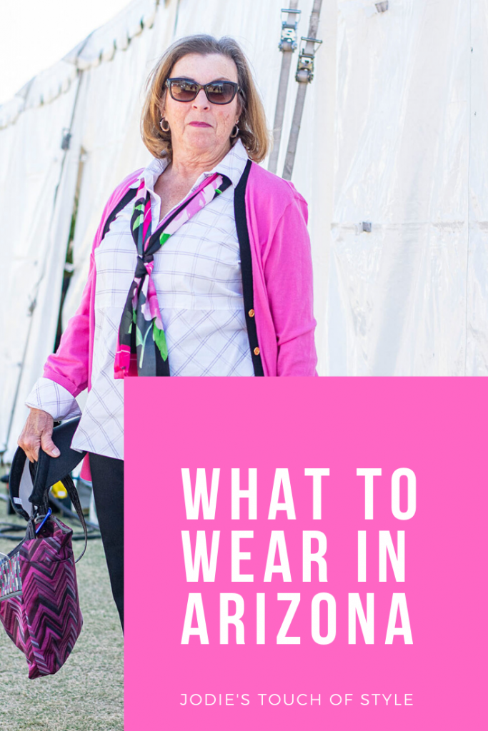 What to wear in Arizona for a woman over 60