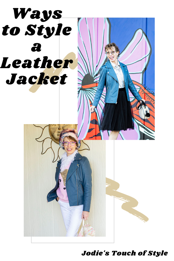 5 Ways to style leather jacket