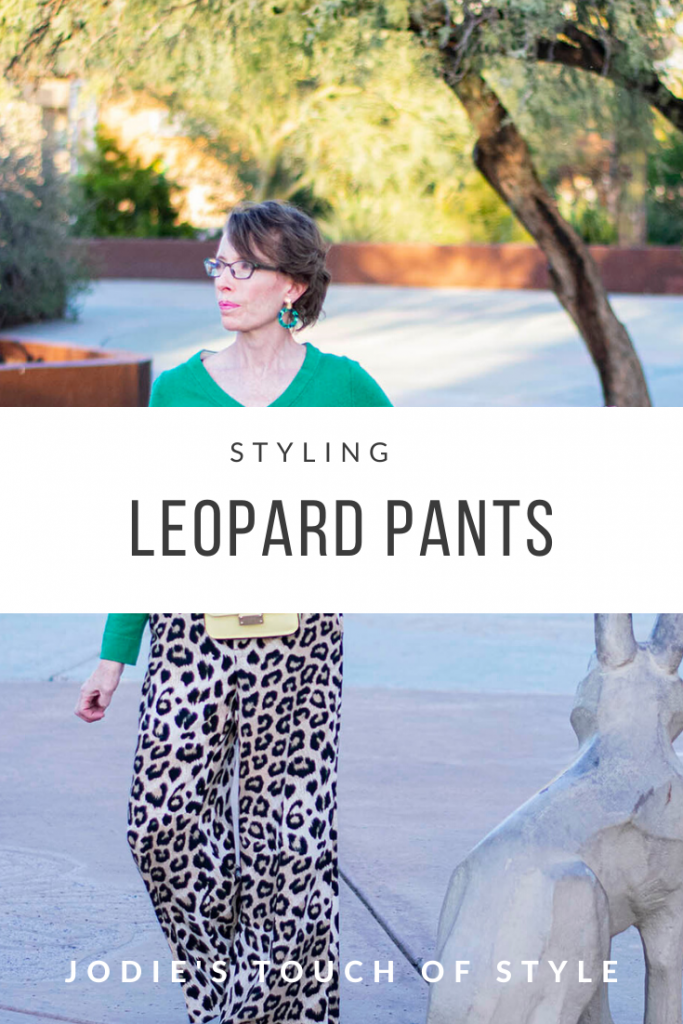 Styling Leopard Pants for Women over 50