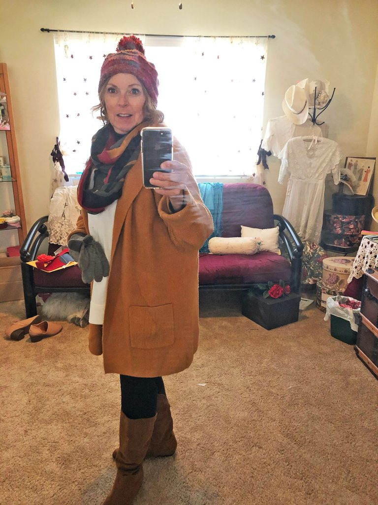 Remembering what to wear in winter