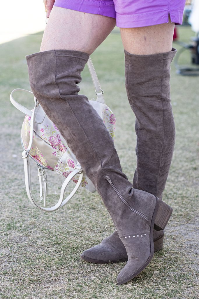 Over the knee boots for older women