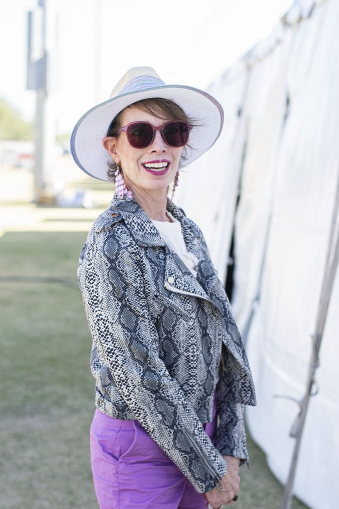 Snakeskin Jacket and hat