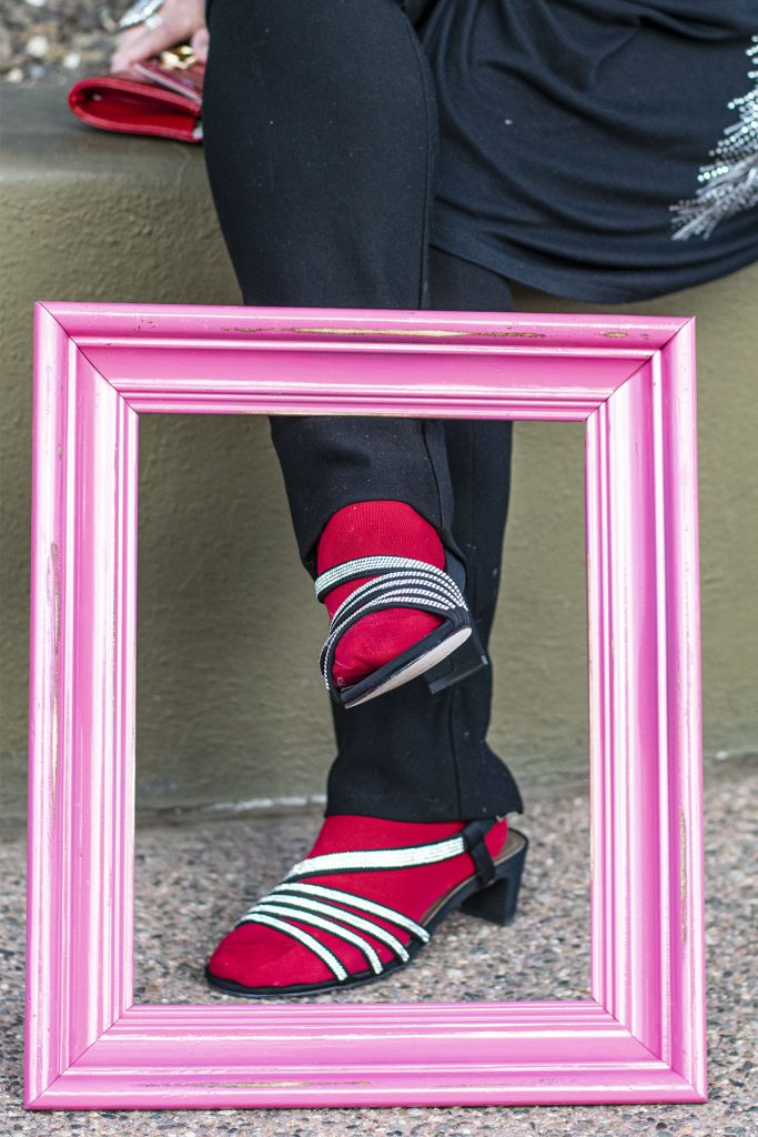 Styling socks and sandals for winter
