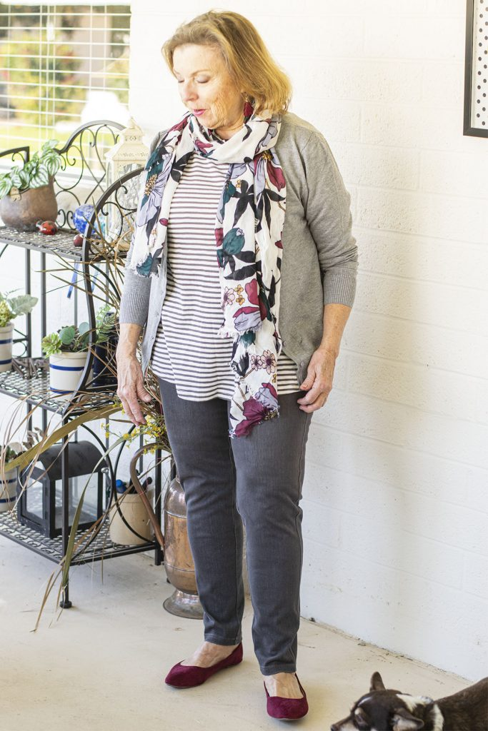 Outfit put together with help from an online virtual stylist