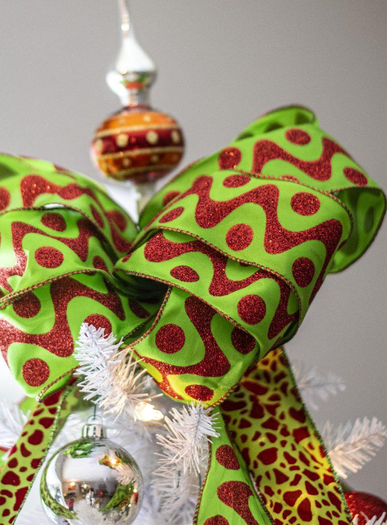 Christmas Bow on the tree