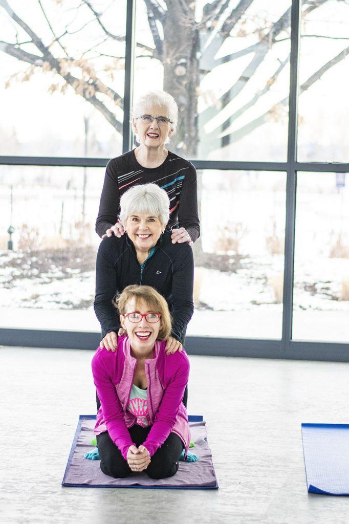 Workout wear for older women