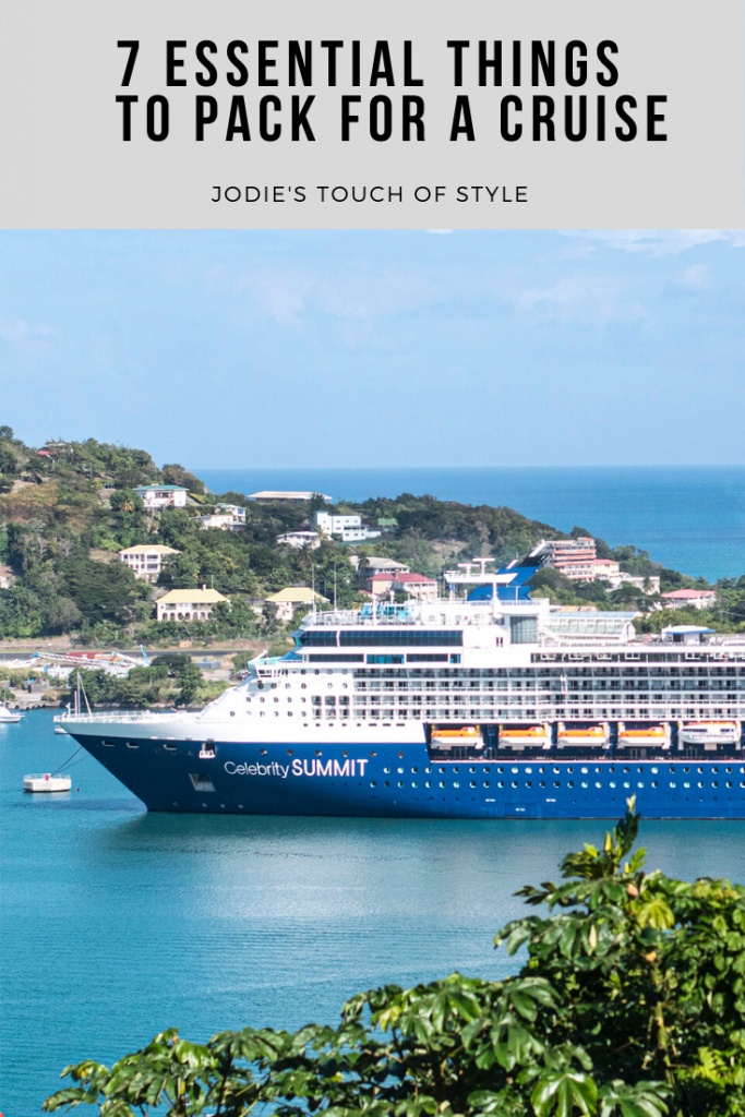 7 essential things for to pack for a cruise