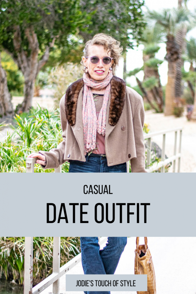 Casual date outfit for women