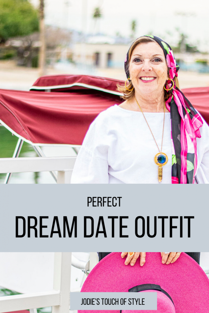 Perfect dream date outfit for older women
