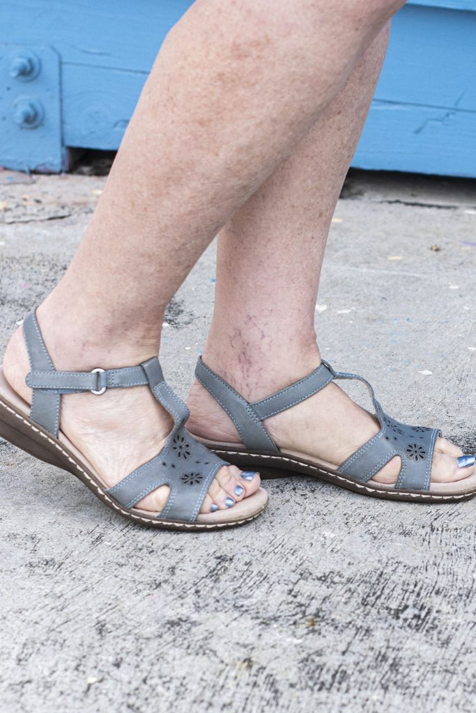 Sandals for an outing