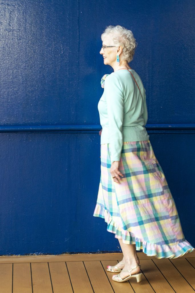 Skirt style for older women