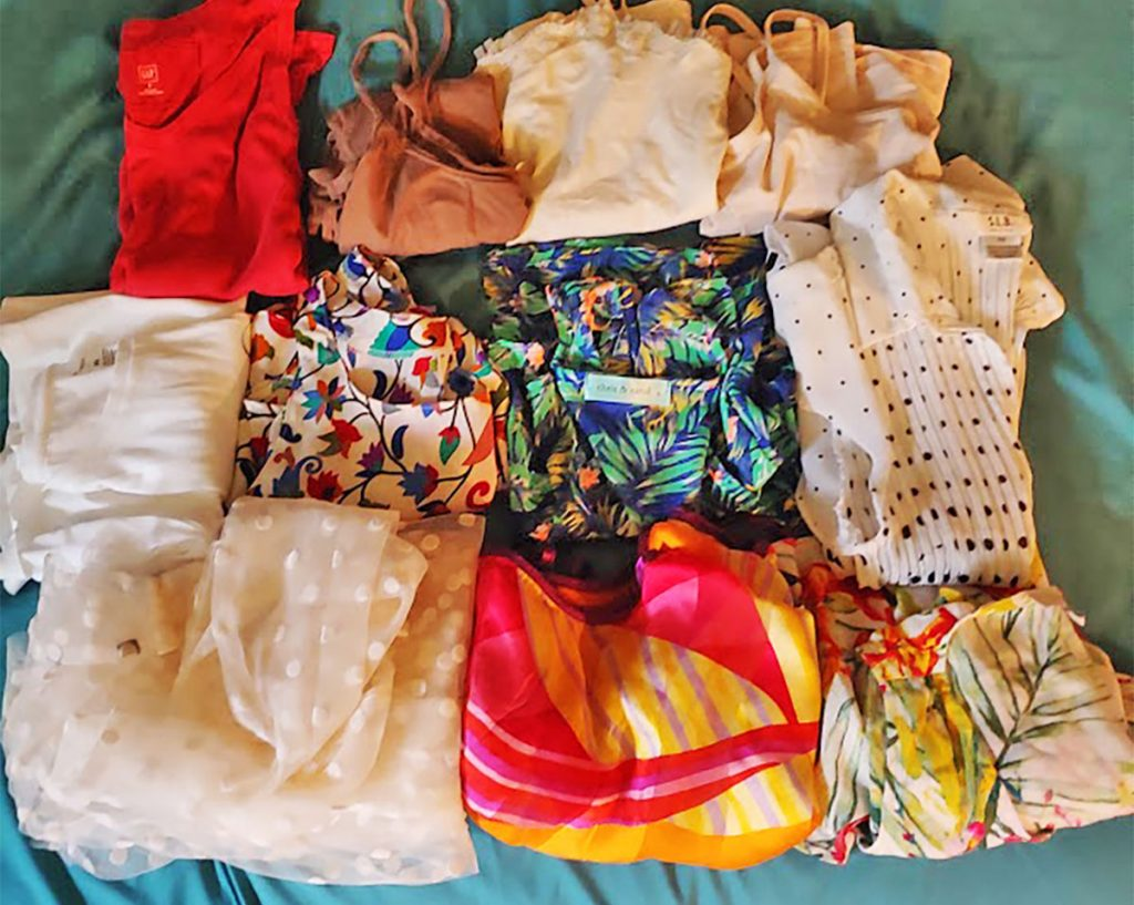Tops for packing for a Caribbean cruise
