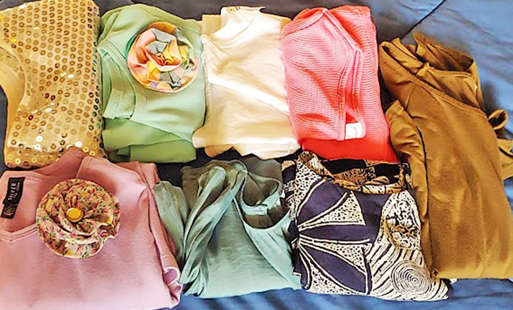 Tops for an 80 year old woman for a cruise