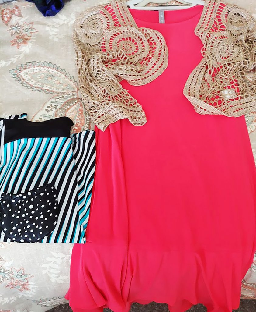 The dressy items when packing for a Caribbean cruise