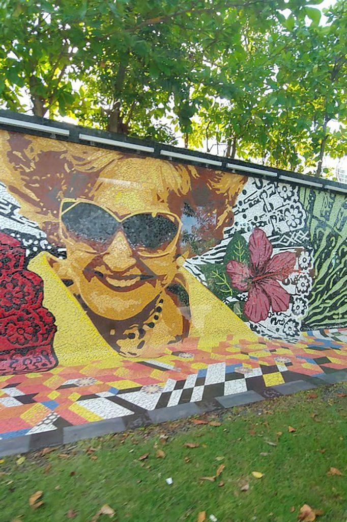 San Juan street murals