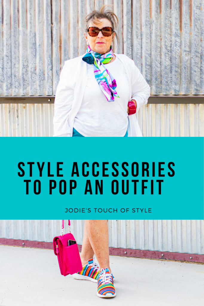 Style accessories to pop an outfit