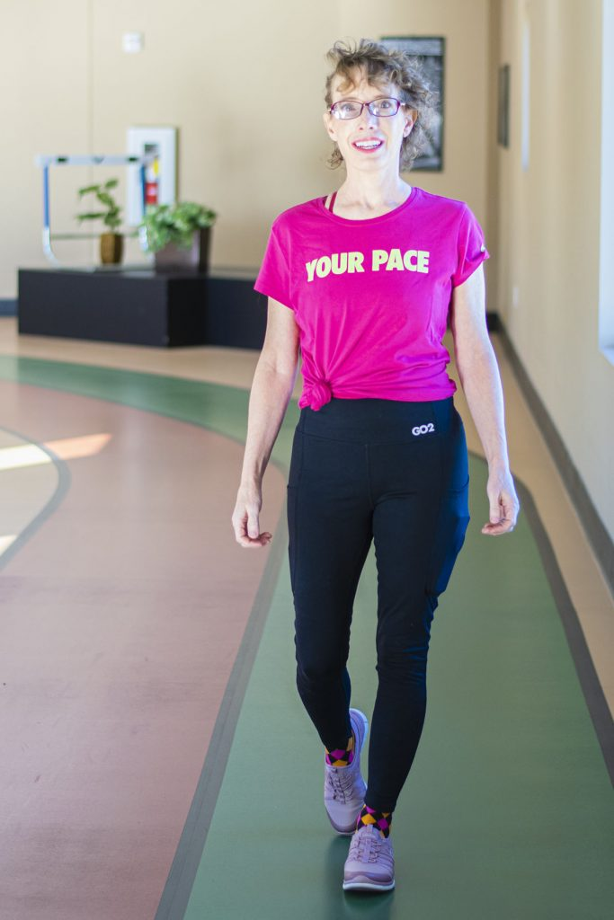Wearing workout clothes for women over 50