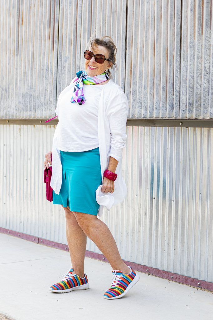 Style accessories to add color
