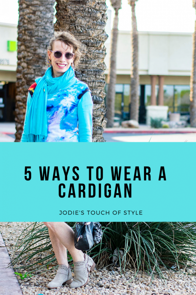 5 ways of how to wear a cardigan sweater