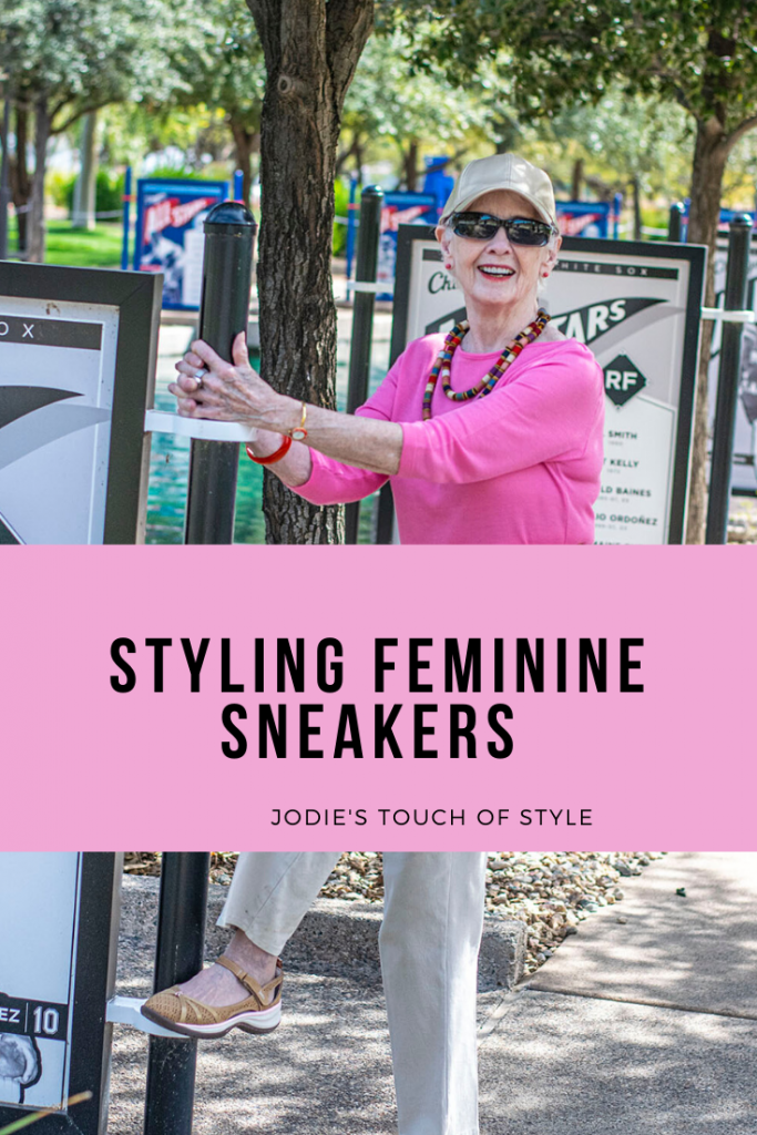 Spring and styling feminine sneakers