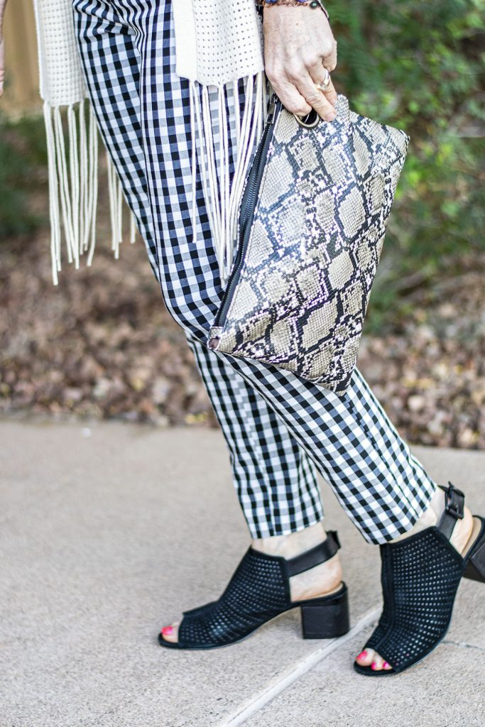 Print mixing with a purse
