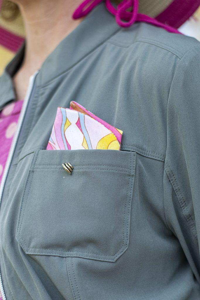 Woman's pocket square