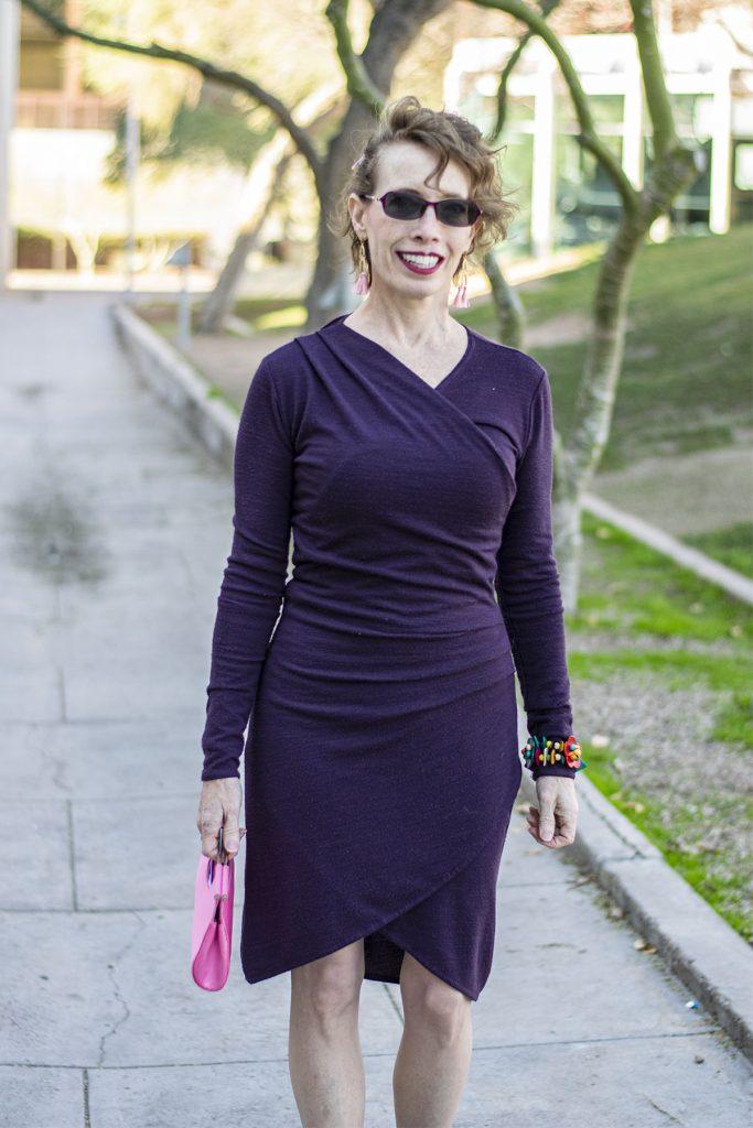 Wrap dress for women