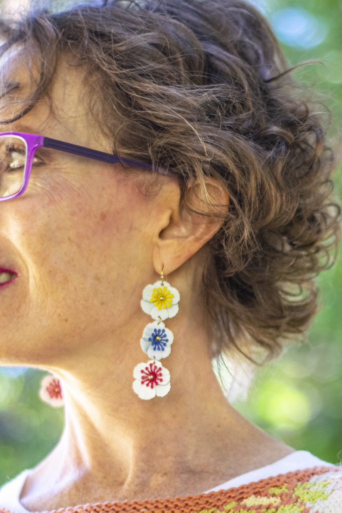 Floral inspiration for earrings