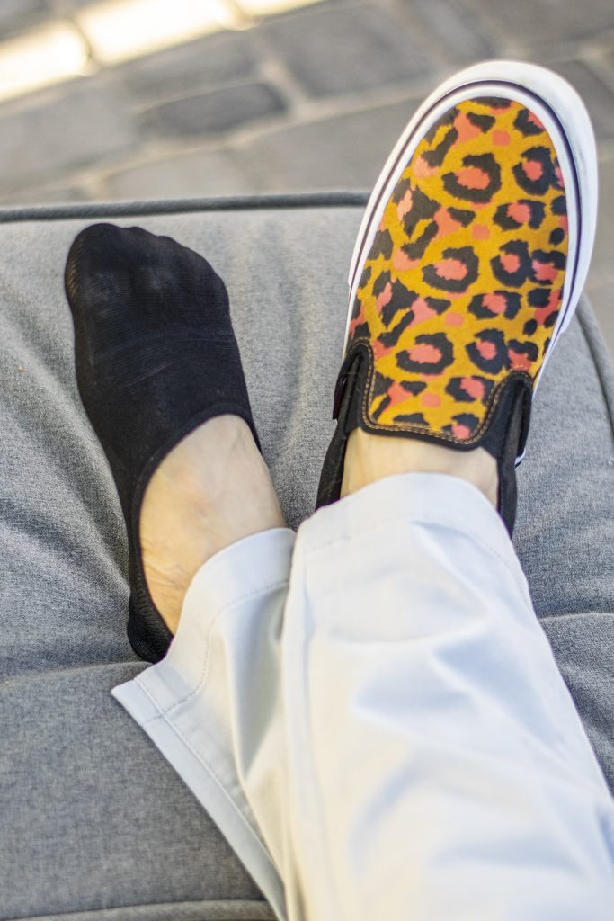 Mens no show socks with sneakers