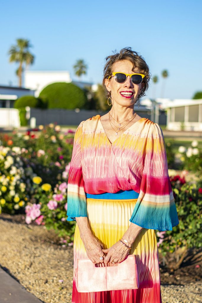 Bright colors as what to wear on Mother's Day