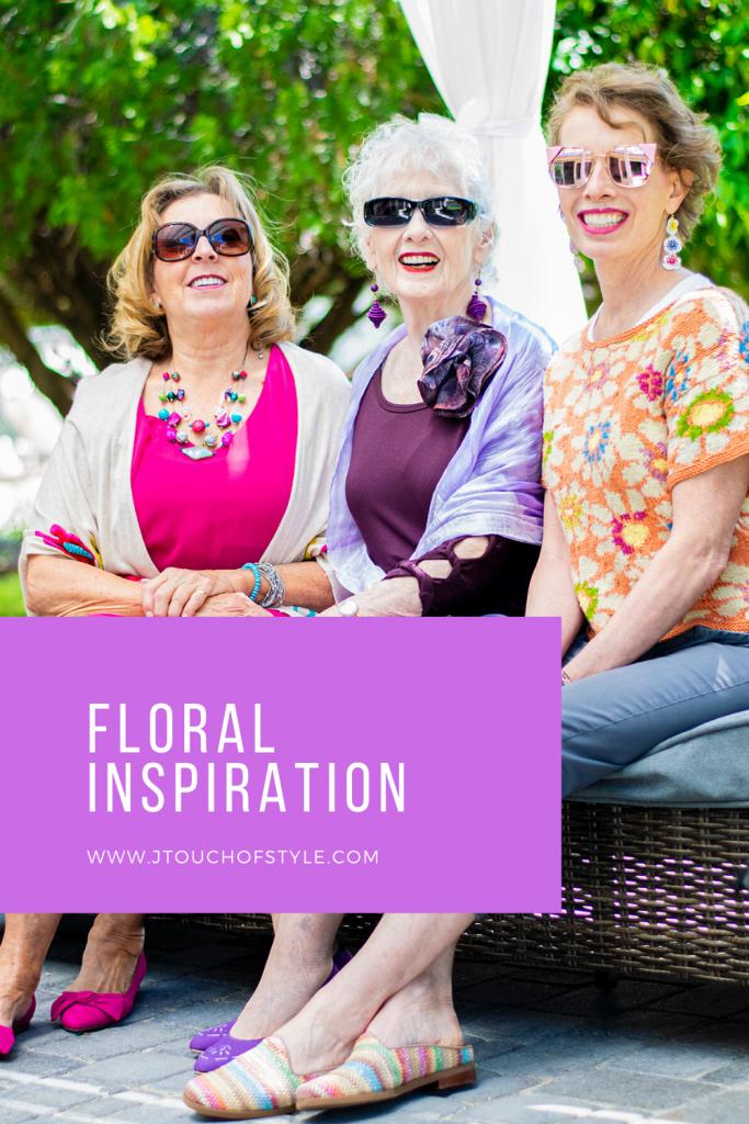 Floral inspiration for older women