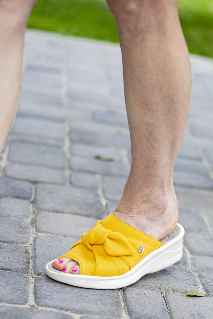 Washable sandals