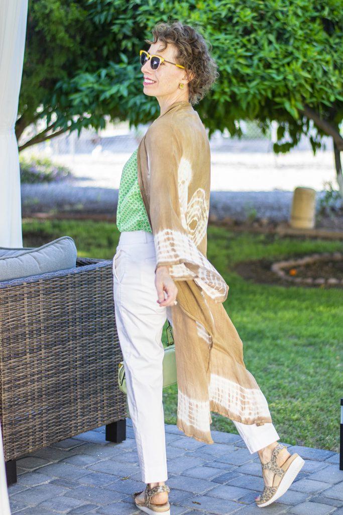Long kimono outfit