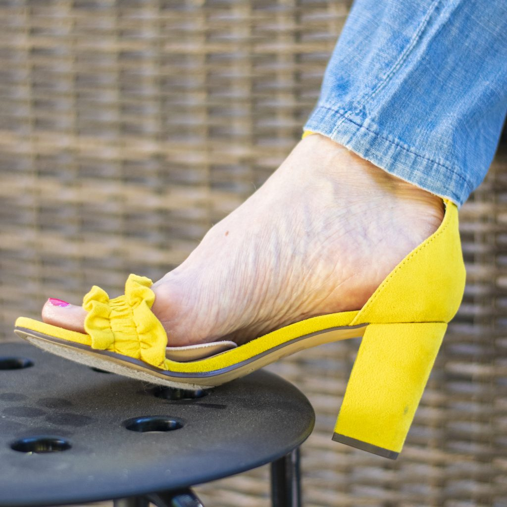 Sheec cushion for high heels
