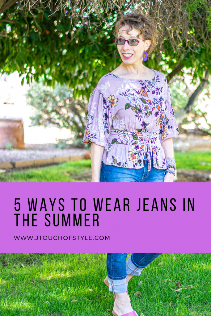 5 ways of wearing jeans in the summer