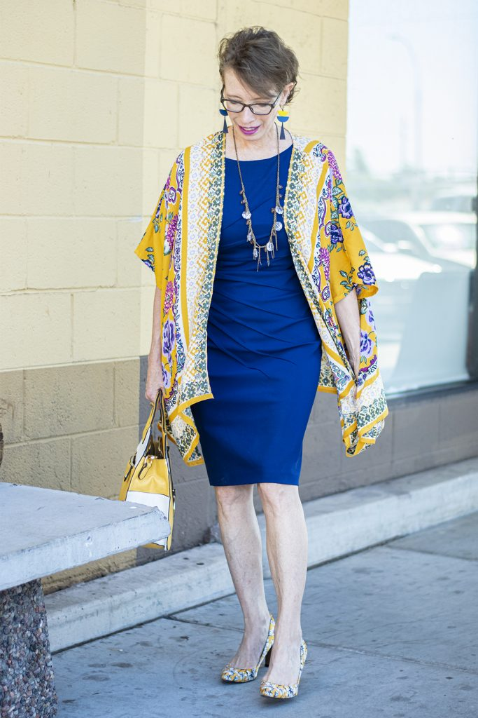 Kimono and dress