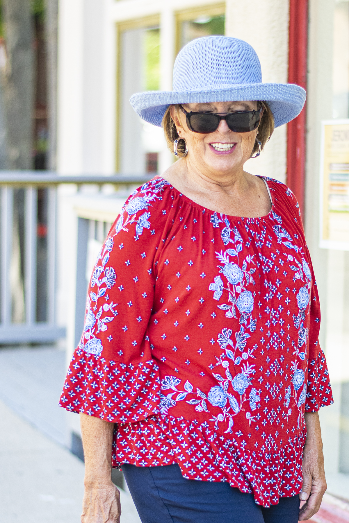 Showcasing Road Trip Outfits In The Summer For Women Over 60