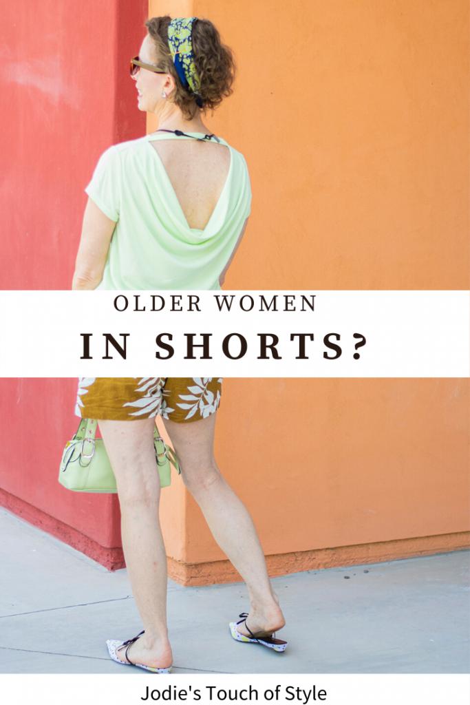 Older women in shorts?